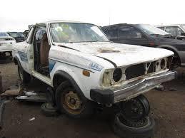 brat car lifted junkyard find 1979 subaru brat the truth about cars