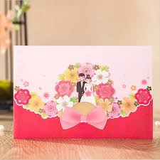 wedding cards usa engagement groom design colorful flower european