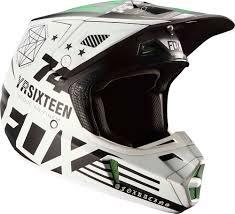 fox motocross goggles fox racing 2017 v2 union se pro circuit monster helmet white black
