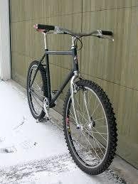 Commuting Mountain Bike Or Road by Specialized Hardrock Gx Single Speed Bicycle Old Steel Bike