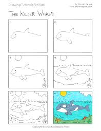 kids drawing tutorials 08 for kids jpg coloring pages maxvision