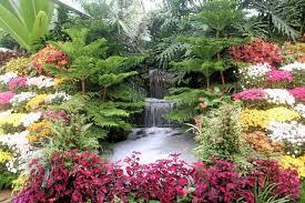 beautiful flower gardens waterfalls kyprisnews