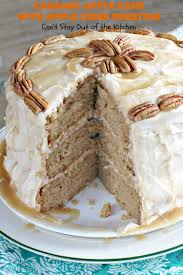 caramel apple cake with apple cider frosting can u0027t stay out of