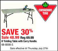 Folding Table Canadian Tire Canadian Tire Oshawa In Oshawa On 905 433 5079 Auto Tires