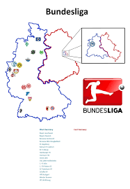 East Germany Map by Bundesliga Clubs In West Germany Vs East Germany 1324 1914