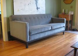 mid century style sofa antique clinton mid century tufted sofa red sofas victoria velvet