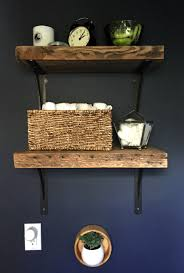 Reclaimed Wood Shelves by Reclaimed Wood Shelves Power Tool Challenge The Diy Bungalow