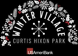 winter village at curtis hixon park in tampa fl