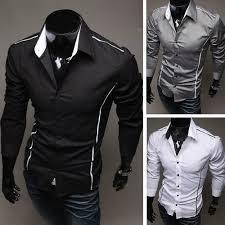 slim fit long sleeve dress shirts dress shirts man and
