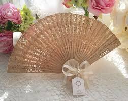 fan wedding favors wedding fans etsy