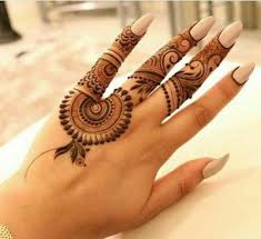 20 handpicked finger mehndi designs with unique and spectacular style