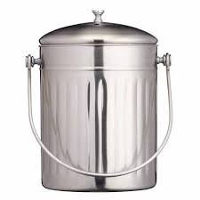 Compost Containers For Kitchen by Kitchen Craft Stainless Steel Compost Bin 5l On Sale Now