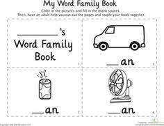 short vowel ick word family tree academic pinterest