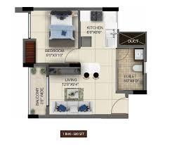 1bhk floor plan floorplan salarpuria sattva anugraha bangalore