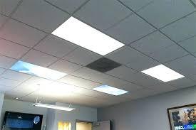 how to install recessed lighting in drop ceiling drop ceiling lighting panel even glow led panel light summer sky