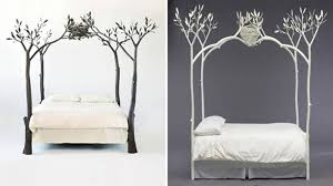 Tree Bed Frame Canopy Beds Where Coziness Unfolds