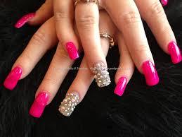 acrylic pink nails u2013 slybury com