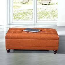 storage ottoman orange amazing orange storage bench luxury comfort