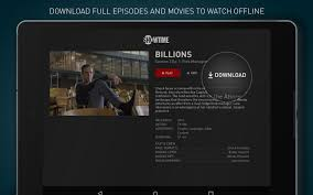showtime android apps on google play