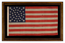 Philadelphia Flag Jeff Bridgman Antique Flags And Painted Furniture 38 Stars On An