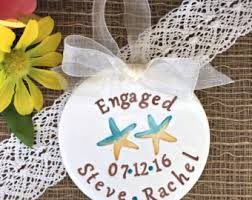 engagement ornament with scribble and arrow