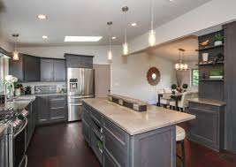 Concrete Countertops Kitchen Countertops Concrete Countertop And Wooden Fences Simple Outdoor