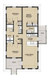 Floor Plans For A Small House Awesome Small Floor Plan Practically Two Suites And Separated By