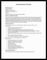 Resume Confidential Information Office Office Secretary Resume