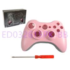 shell kit glossy orange red for microsoft xbox 360 controller