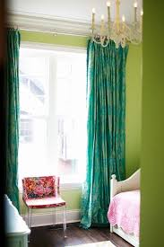Green Color Curtains Best 25 Green Curtains Ideas On Pinterest Green Curtains For