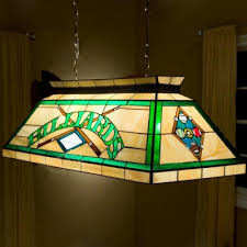 tiffany pool table light billard pool table l stained glass tiffany 2 light pendant