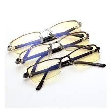 mens light tint sunglasses vazrobe computer glasses men titanium anti blue light radiation for