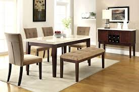 Dining Table With Bench With Back Awesome Dining Room Bench Seating With Backs Gallery