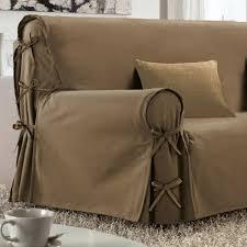 couvre canapé 3 places housse de canapé 3 places taupe housse de canapé et clic