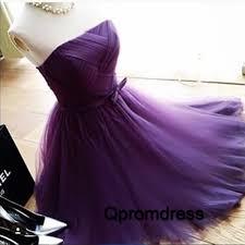 purple tulle purple sweetheart tulle prom dress