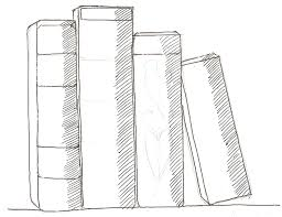 how to draw books in shelf which can be read children u0027s