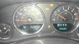 2008 jeep liberty warning lights jeep jk abs esp and descent assist lights at start youtube