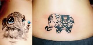 10 cute elephant tattoos everything about tattoos