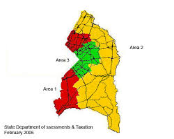 prince georges county map prince george s county reassessment areas