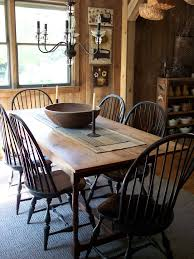 Best Primitive And Colonial Dining Rooms Images On Pinterest - Colonial dining rooms