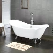 Claw Foot Tub Shower Curtains 72 Lena Cast Iron Clawfoot Tub Monarch Imperial Feet Dark Gray