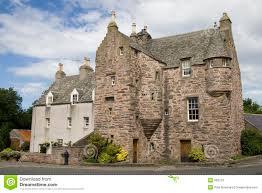 16th century scottish tower house stock photos image 985273
