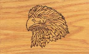 burn on wood eagle wood burn by xc runner09 on deviantart