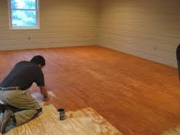 Affordable Flooring Options Diy Plank Flooring On The Cheap With Quarry Orchard Basement Floor