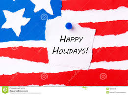 happy holidays note stock photo image of message patriot 40826548