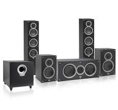 best affordable home theater speakers elac debut 5 1 channel home theater speaker system at best price