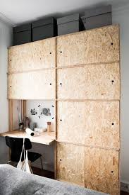 bureau en osb 15x osb in huis huis inrichten com