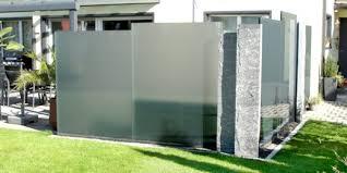 balkon sichtschutz aus glas emejing trennwand garten glas pictures interior design ideas