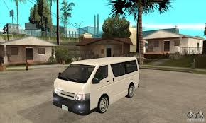 toyota van philippines toyota hiace for gta san andreas