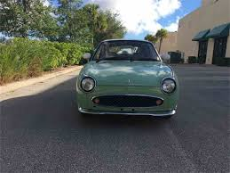 nissan figaro interior 1991 nissan figaro for sale classiccars com cc 1040030